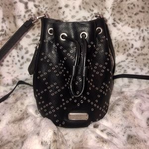 Marc Jacobs Bags - Marc Jacobs Crossbody Studded Black Bucket Bag